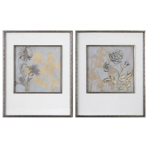 Uttermost Art Shadow Florals (Set of 2)