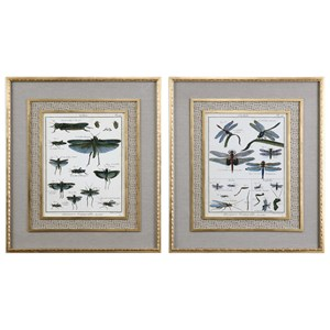 Uttermost Art Naturelle Insects (Set of 2)