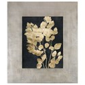 Uttermost Framed Prints Custom Postage Leaves Gold Foil Print - Item Number: 41569