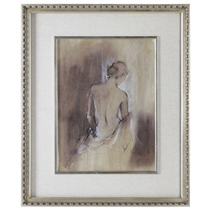 Uttermost Art Contemporary Draped Figure Feminine Art