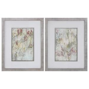 Flower Dreams Pastel Prints Set of 2