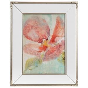 Uttermost Art Veiled Poppy Floral Art