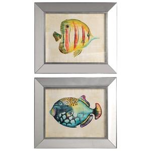 Uttermost Art Aquarium Fish Prints