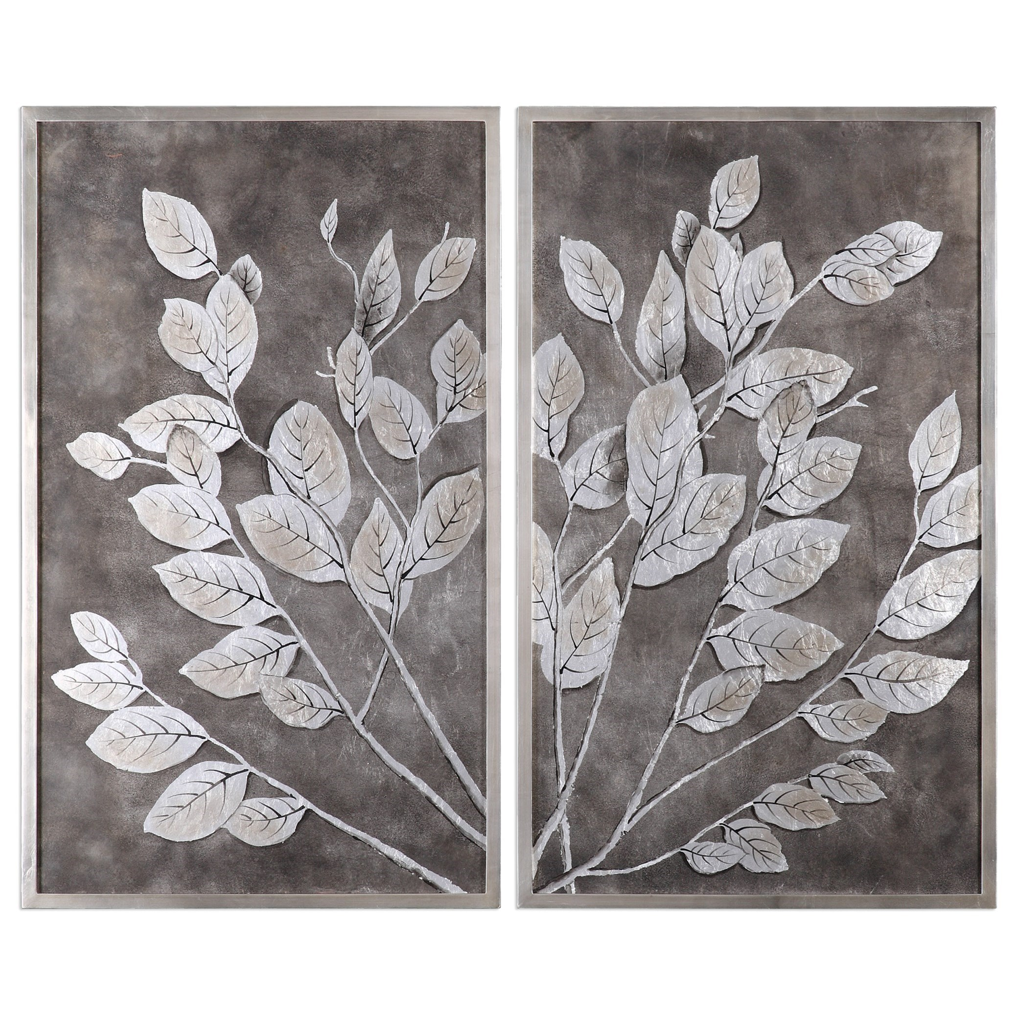 Uttermost Art Money Tree Framed Art S/2 - Item Number: 41602