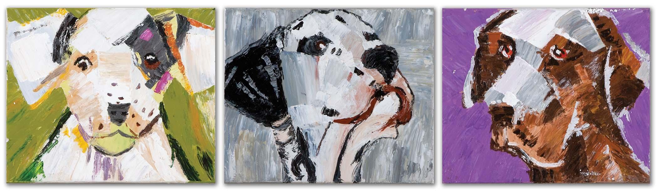 Uttermost Art Three Amigos Canvas Art - Item Number: 41902