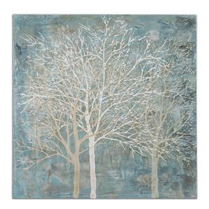 Uttermost Art Muted Silhouette Canvas Art