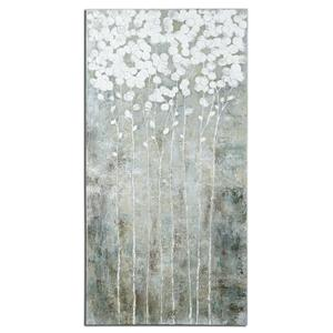 Art Cotton Florals Wall Art by Uttermost