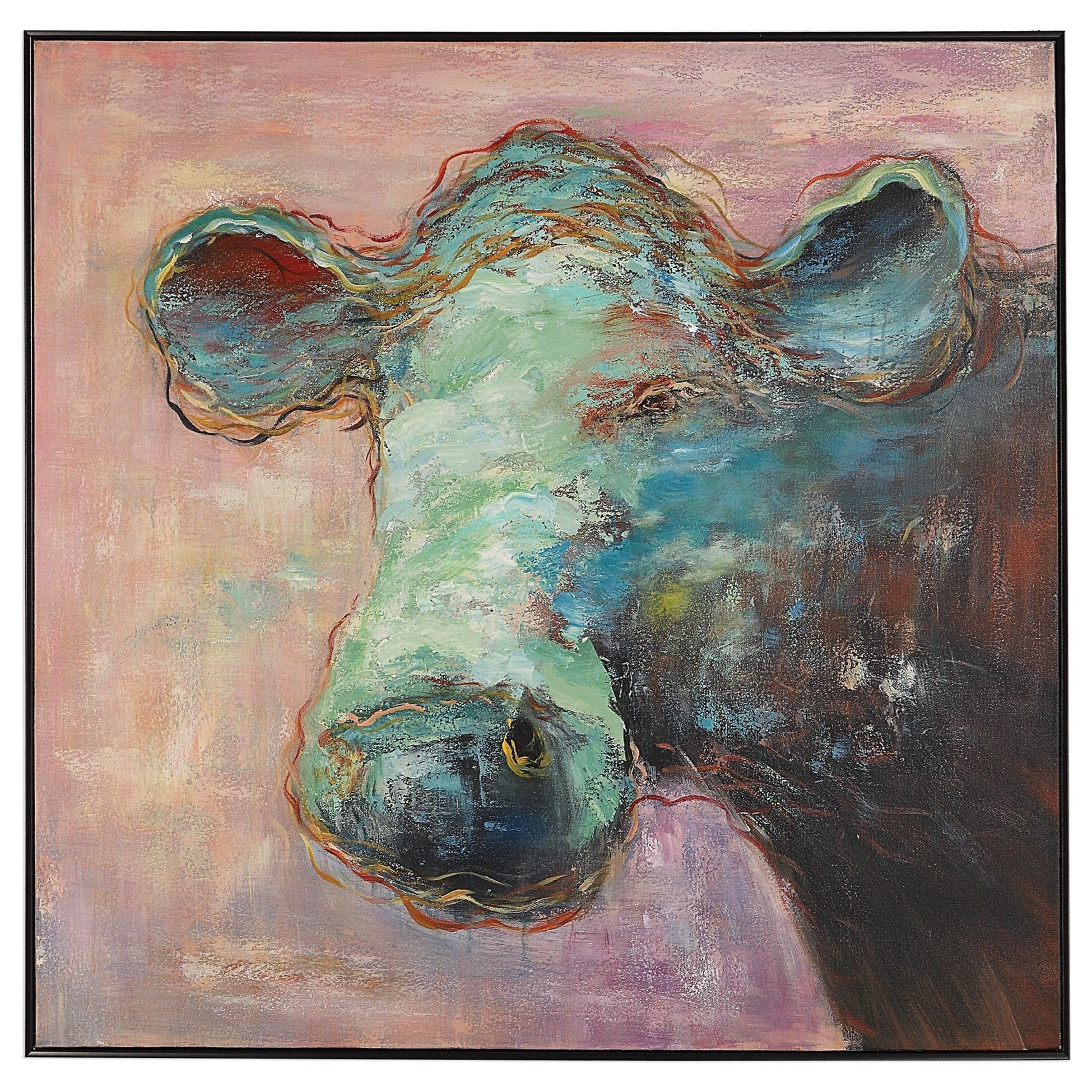 Matty The Cow Animal Art