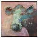 Uttermost Art Matty The Cow Animal Art - Item Number: 41917