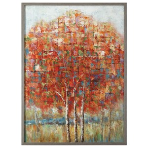 Autumn View Landscape Art