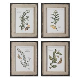 Uttermost Art Butterfly Plants