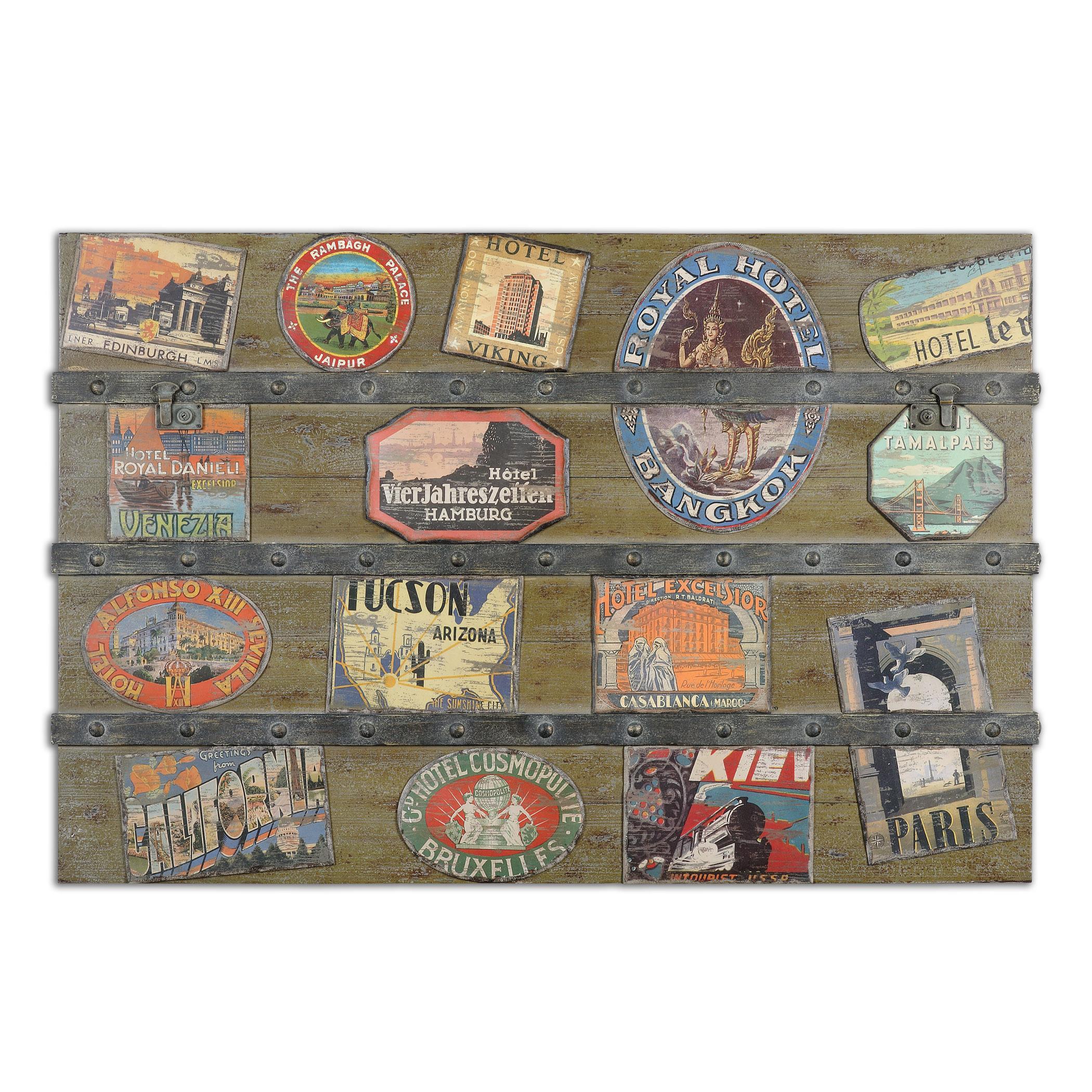 Uttermost Art International Trunk Wall Art - Item Number: 51098
