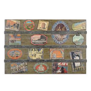 Uttermost Art International Trunk Wall Art