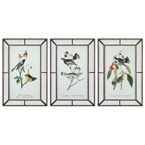 Uttermost Art Warblers (Set of 3)