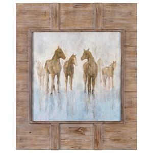 Uttermost Art Headed To The Barn Horse Print