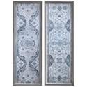 Uttermost Art Vintage Persian Panels Framed Prints, Set/2 - Item Number: 51113