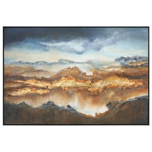 Uttermost Art Valley Of Light Landscape Art