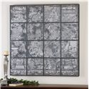 Uttermost Art Antique Street Map Wall Art