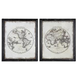 Uttermost Art Global Vintage Art, Set of  2