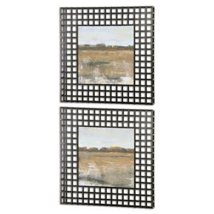 Uttermost Art Pastoral Framed Art, Set of 2