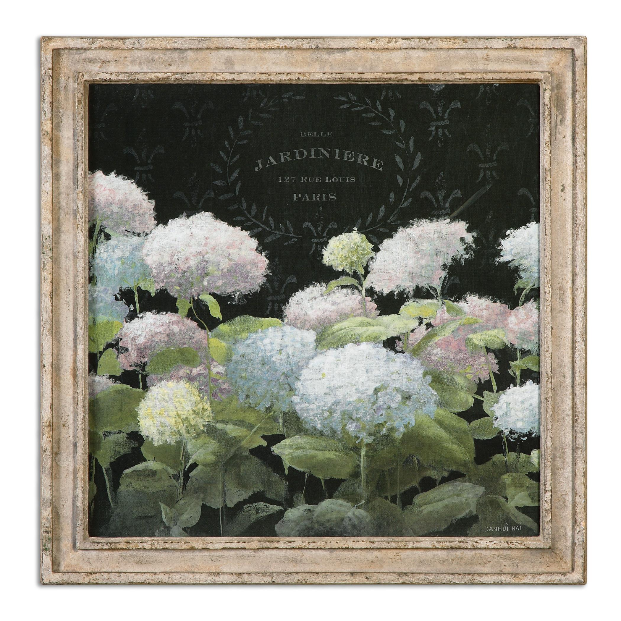 Uttermost Art La Belle Jardiniere Crop Framed Art - Item Number: 56056