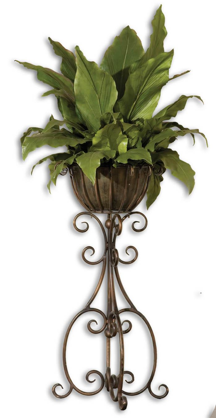 Uttermost Botanicals Costa Del Sol Potted Greenery - Item Number: 60090