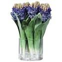 Uttermost Botanicals Etta Hyacinth Bouquet - Item Number: 60141