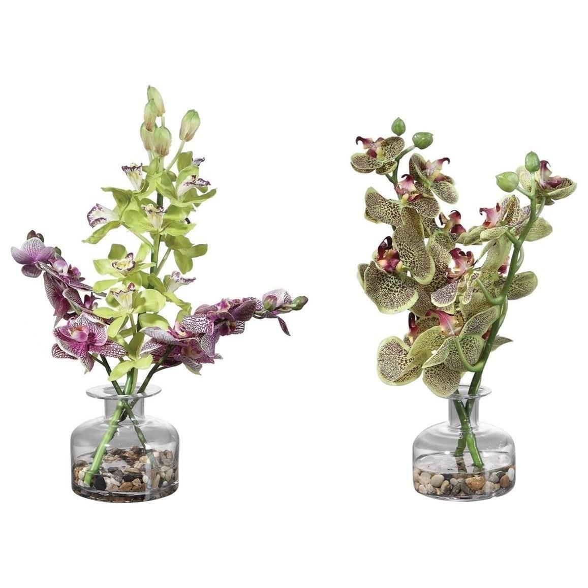 Malin Orchid Bud Vases, Set/2