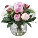 Uttermost Botanicals Blaire Peony Bouquet - Item Number: 60145