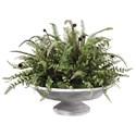 Uttermost Botanicals Mabry Fern Centerpiece - Item Number: 60157