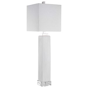 Bennett White Buffet Lamp
