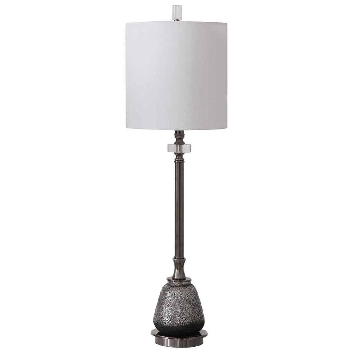 Rana Silver Buffet Lamp