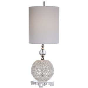 Mazarine Open Ceramic Buffet Lamp