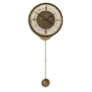 Uttermost Clocks Leonardo Chronograph Cream Clock
