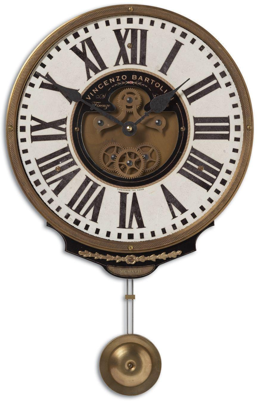 Uttermost Clocks Vincenzo Bartolini Cream Clock - Item Number: 06021