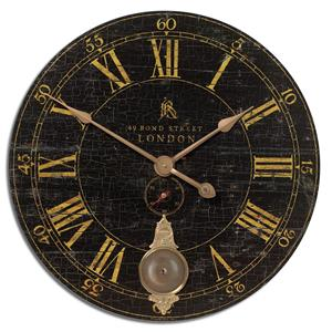 "Uttermost Clocks Bond Street 30"" Clock"