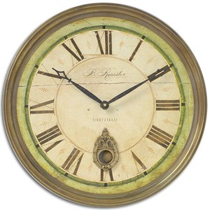 Uttermost Clocks Regency B. Rossiter Wall Clock