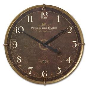 Uttermost Clocks Hotel Du Vieux Quartier Clock