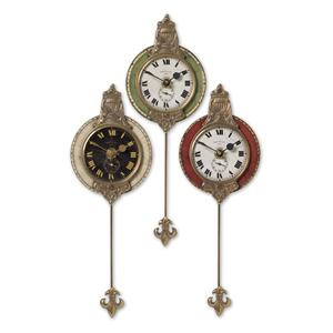 Monarch Clocks Set of 3