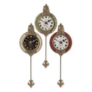Uttermost Clocks Monarch Clocks Set of 3