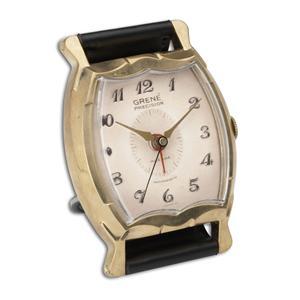 Uttermost Clocks Wristwatch Alarm Square Grene Clock