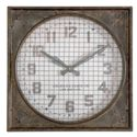 Uttermost Clocks Warehouse Clock with Grill - Item Number: 06083