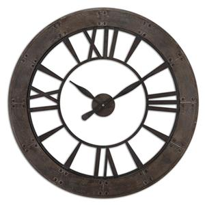 Uttermost Clocks Ronan Wall Clock