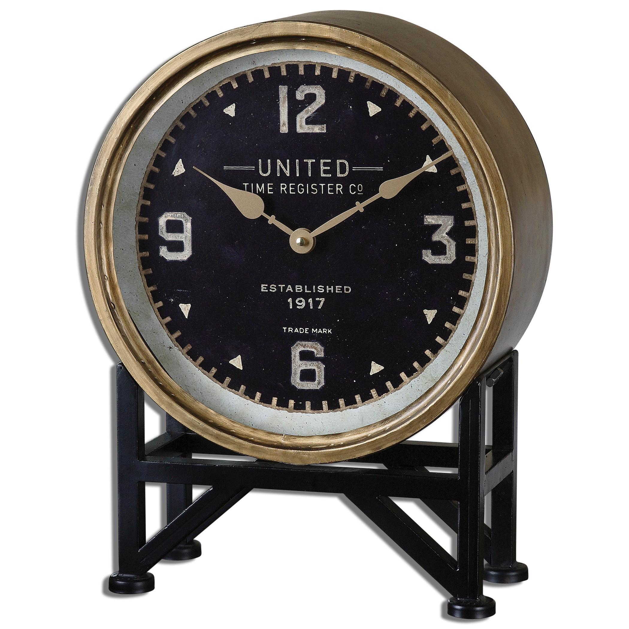 Uttermost Clocks Shyam Table Clocks - Item Number: 06094