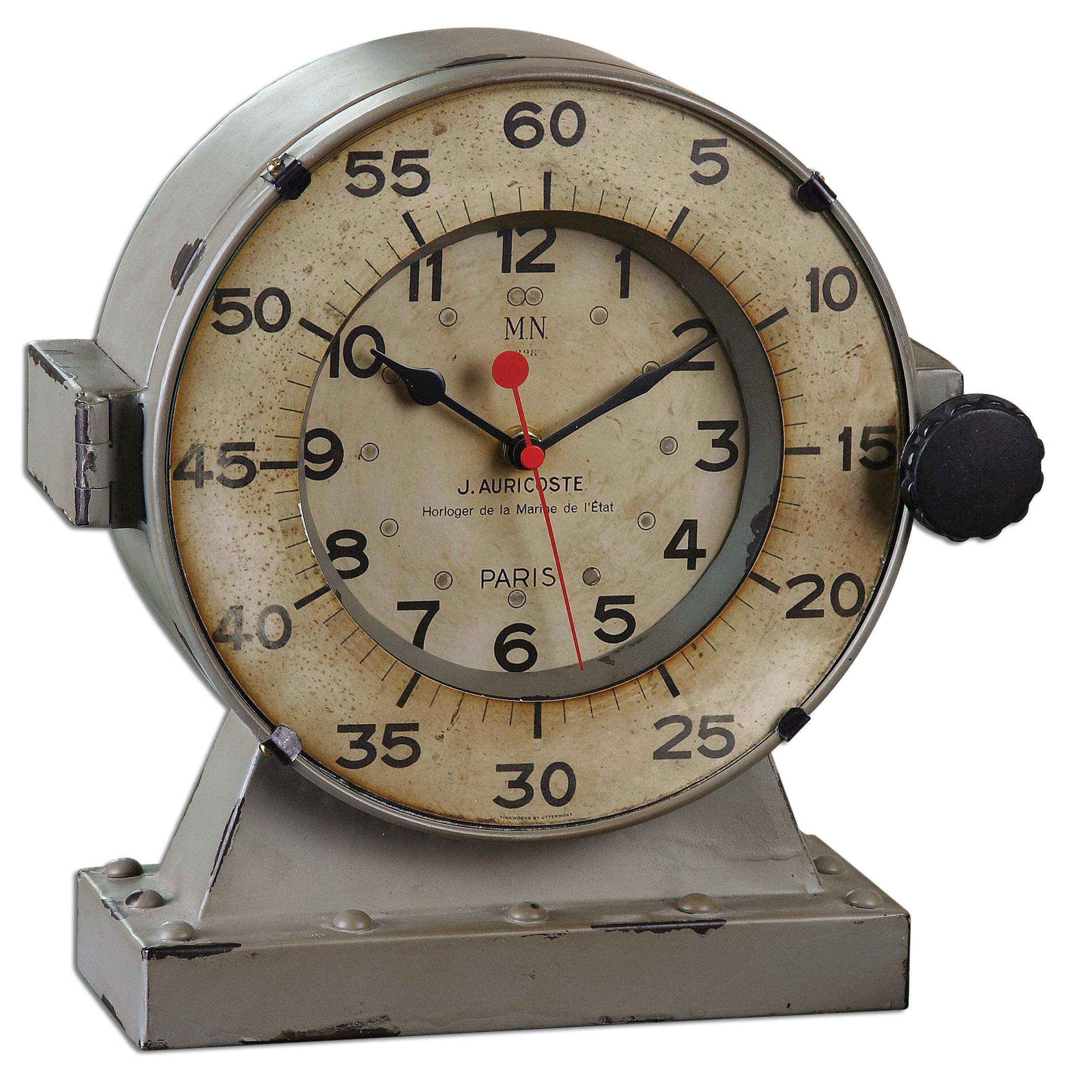 Uttermost Clocks Marine Table Clocks - Item Number: 06096