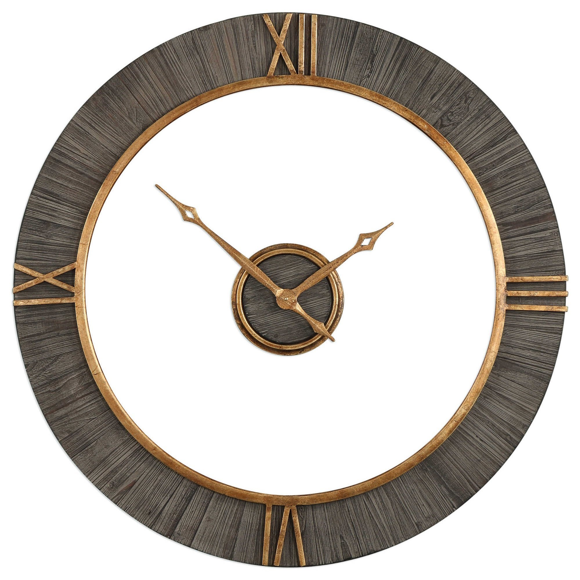Uttermost Clocks 06097 Alphonzo Modern Wall Clock Del