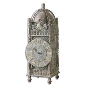 Uttermost Clocks Yaxha Aged Table Clock