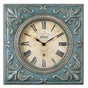 Uttermost Clocks Canal St. Martin Square Wall Clock - Item Number: 06422