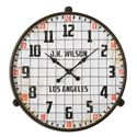 Uttermost Clocks Max Aged Wall Clock - Item Number: 06424