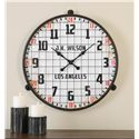 Uttermost Clocks Max Aged Wall Clock